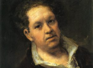 autoportrait goya