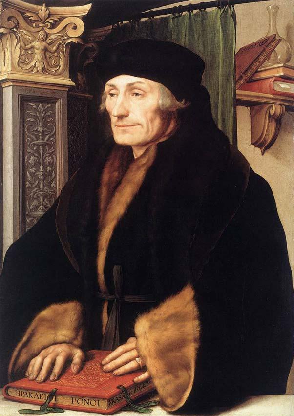 portrait d'Erasme