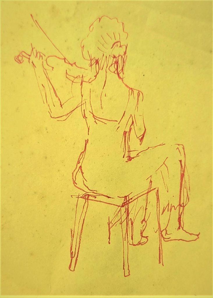 violon femme