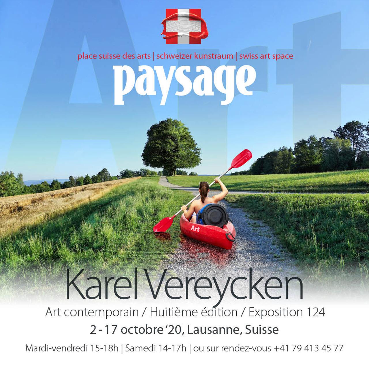 Exposition paysage 2020 Lausanne